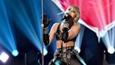 Miley Cyrus on why she teared up singing Wrecking Ball at Super Bowl show