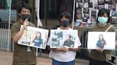 職工盟 5.1 街站 戰友手持入獄工會領袖照片 李卓人太太:唔好忘記佢 | 立場報道 | 立場新聞