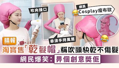吹頭神器 ︳淘寶售「乾髮帽」稱吹頭快乾不傷髮 網民笑有創意擔心安全問題 - 晴報 - 家庭 - 家居
