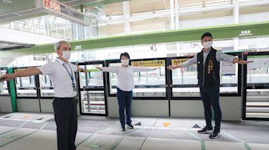 疫情警戒降級中捷運量回升 綠線加強防疫措施