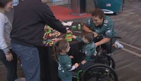 Philadelphia Eagles, CHOP Team Up To Help Children With Disabilities Get Around For The Holidays