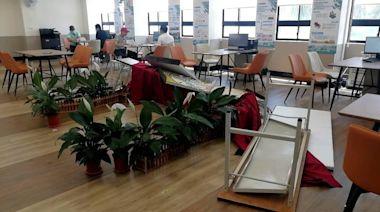 大林蒲遷村服務中心遭翻桌砸電腦 都發局:拒絕一切暴力