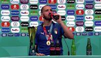 Trophy, Coca-Cola and Heineken for thirsty Bonucci