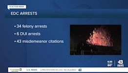 Las Vegas police release EDC arrest numbers