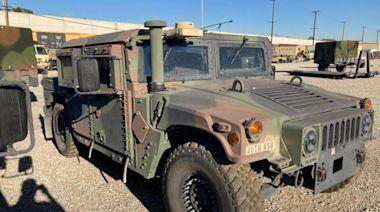 National Guard Humvee is stolen in Bell