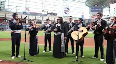 Rice University mariachi band shows love for Astros with twist to classic tune