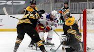Rangers vs Bruins: Jones, Barron, Quinn react to 4-0 loss | Rangers Post Game