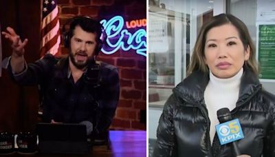 'Aggressively Asian face': Right-wing host draws outrage over racist insult of Asian American Bay Area reporter