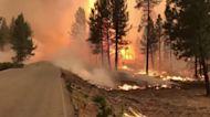 80 major wildfires burning in western U.S.