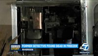 Woman found dead in freezer ID'd as former LA County detective