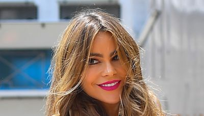 Sofia Vergara Goes High-Low in a $24 Walmart Blouse, Cropped Jeans & Cult-Favorite Heels