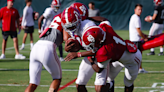 Video, photos from Alabama's second practice of Tennessee game week