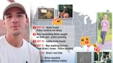 Map of Brian Laundrie's recent sightings as FBI hunt for Gabby fiancé
