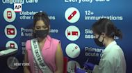 Miss Universe urges people to get vaccinated