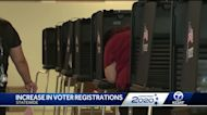 Voter registration up in New Mexico