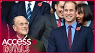 Prince William Pens Heartfelt Tribute To Prince Philip & Shares Photo Of Him With Prince George