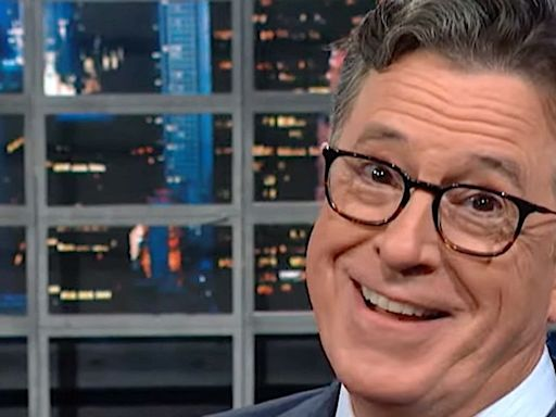 Stephen Colbert Answers Trump's 'Ominous' Rhyme With A Scathing Poem Of His Own