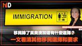 【投資專欄】移民除了英美澳加還有什麼選擇?一文看清其他移民選擇和要求