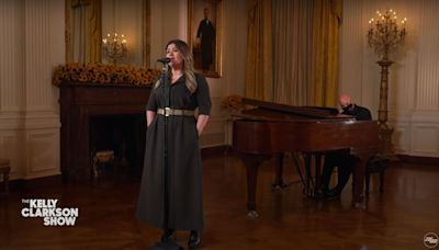 Kelly Clarkson Sings Jill Biden's 'Favorite' Song During Special White House Episode: 'So Perfect for Today'
