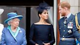 Queen Keeps Rare Snap of Meghan Markle and Prince Harry Among Family Photos at Long-Awaited Meeting