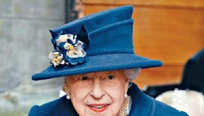 英女皇突入院檢查 現已返回溫莎堡