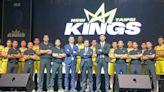 新北國王隊今成軍主場在新莊體育館 球員未來將巡迴校園 - 工商時報