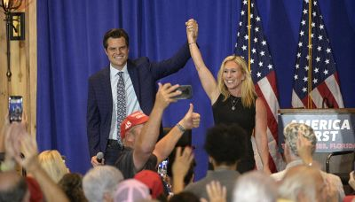 'America First isn't going away': Gaetz and Greene strike defiant tone at tour kickoff