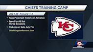 Chiefs Training Camp returning to Missouri Western State University