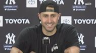 Yankees vs Mariners: Joey Gallo all smiles after his first home run as as a Yankee | Yankees Post Game