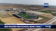New Waukee high school nearly complete