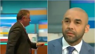 Piers Morgan storms off Good Morning Britain after Alex Beresford condemns him for 'trashing' Meghan Markle