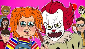 ♪ CHUCKY vs PENNYWISE THE MUSICAL - Animated Parody Song