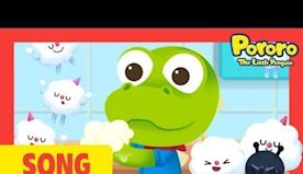 Wash Your Hands Song with Pororo and Friends l Learn Good Habits Song for Kids
