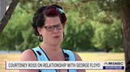 Courteney Ross, George Floyd's girlfriend talks about the Chauvin Trial and how she honors Floyd's memory