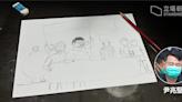 【47 人案】尹兆堅兒子畫畫憶父親:期待同爸爸參加五一勞動節遊行 | 立場報道 | 立場新聞