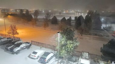 Record-setting cold leaves blanket of snow over north-central US