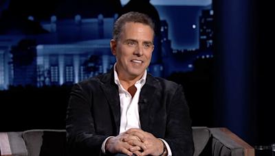 Hunter Biden tells Jimmy Kimmel about crack, addiction, Donald Trump Jr.'s 'wildly comical' nepotism slurs