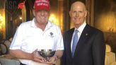 Trump gets award from Senate Republican fundraising group before he calls Sen. McConnell a 'dumb' SOB