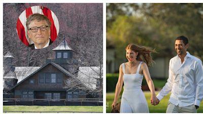 世界前首富比爾蓋茲嫁女 124英畝馬場辦5600萬豪華婚禮   蘋果新聞網   蘋果日報