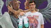 Meet the Charlotte artist who custom-paints sneakers for America's sports media stars