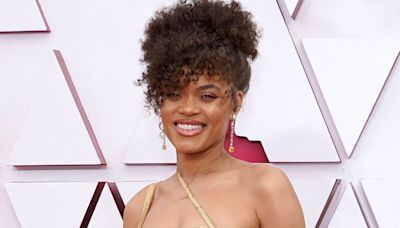 Nominee Andra Day Is Already Golden in Her Precious (as in Metal) 2021 Oscars Look