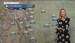 Cold mornings and pleasant afternoons are expected this weekend