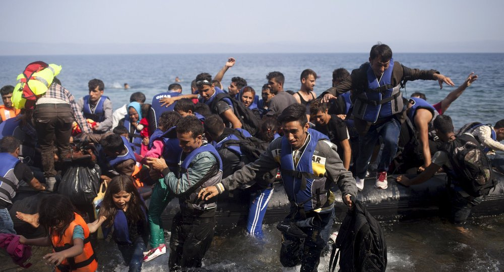 ... International » Record half a million refugees reach Europe this year