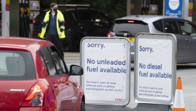U.K. suspends competition law and weighs calling in the army to address fuel shortages