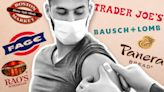 Vaccinated consumers like to shop at Trader Joe's, dine at Panera Bread and buy Rao's premium pasta sauce