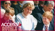 Princess Diana Said She Wanted To See Prince William & Prince Harry In Final Phone Call Before Her Death
