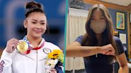 Suni Lee Gets Olympic Rings Tattoo After Winning 3 Medals At Tokyo Olympics