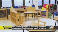 CDC Updates Guidance For Masks In Schools