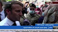 'Revolution': Beirut crowds urge Macron to help