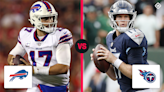 What time is the NFL game tonight? TV schedule, channel for Bills vs. Titans in Week 6